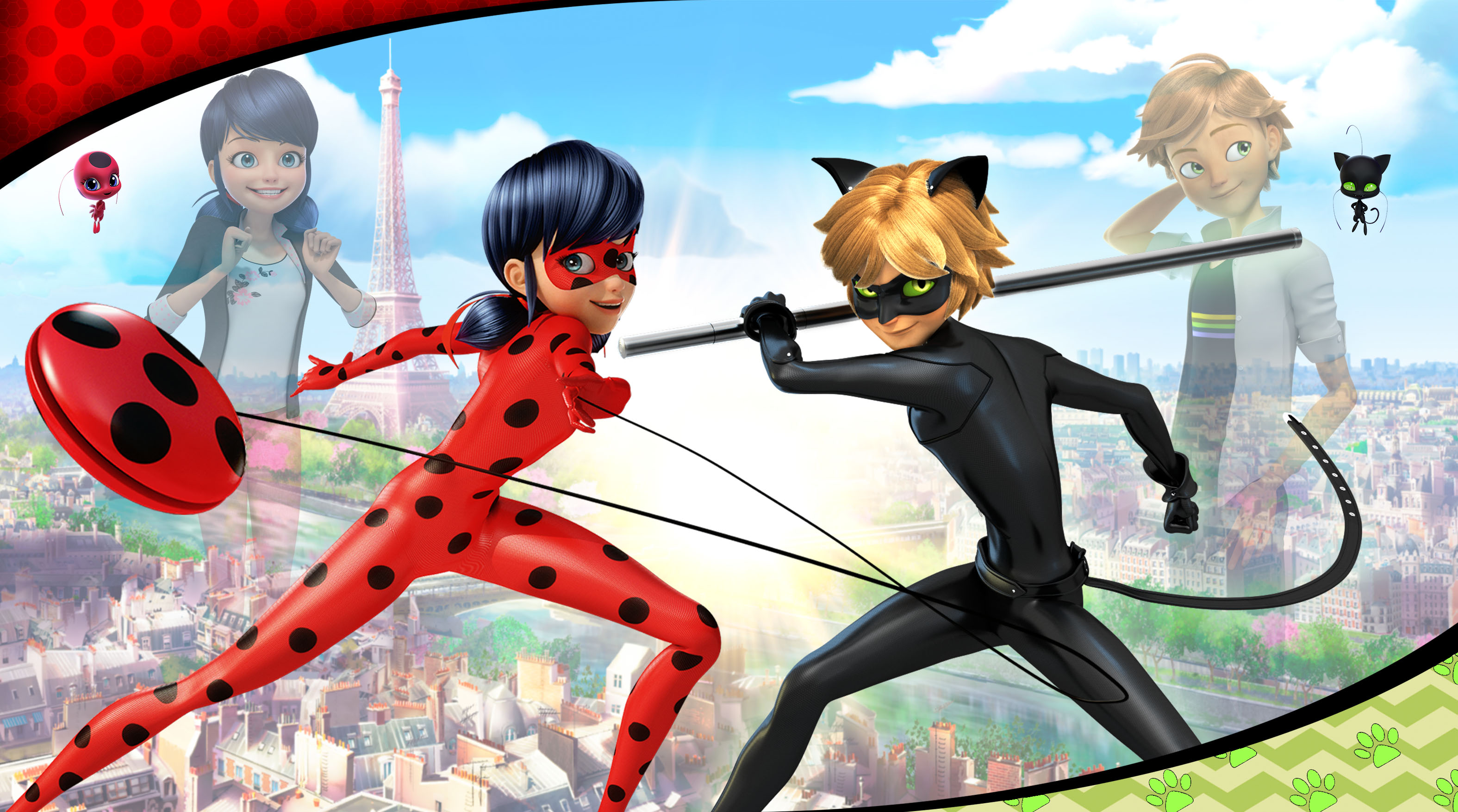 Miraculous  tales of ladybug   cat noir wallpapers 26281 6549331