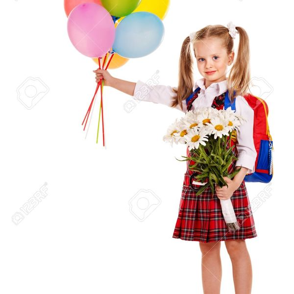 600x600 14741754 child with backpack holding balloon isolated  stock photo school schoolgirl child
